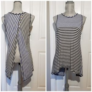 COIN cotton innovation open back tank